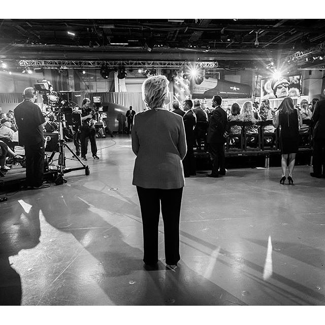Photo credit:@hillaryclinton #imwithher