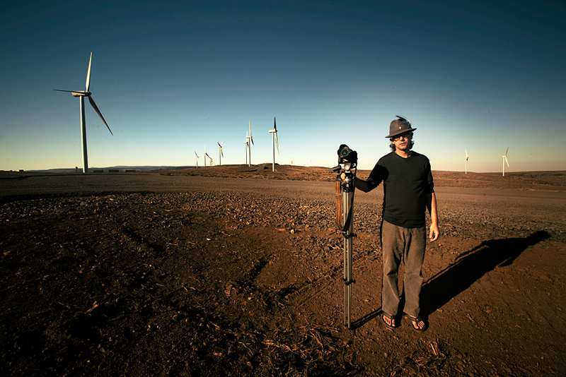 the corey in the windfarm