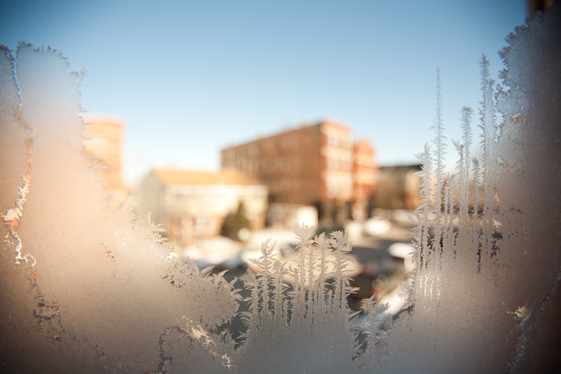 ice crystals of the midwest